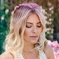 link to Molly King Coachella: Double Dutch braids