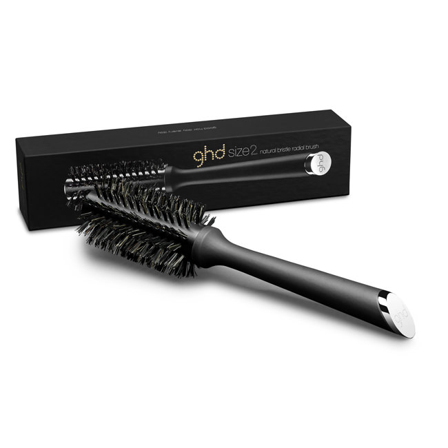ghd natural bristle radial brush size 2 (35mm barrel)